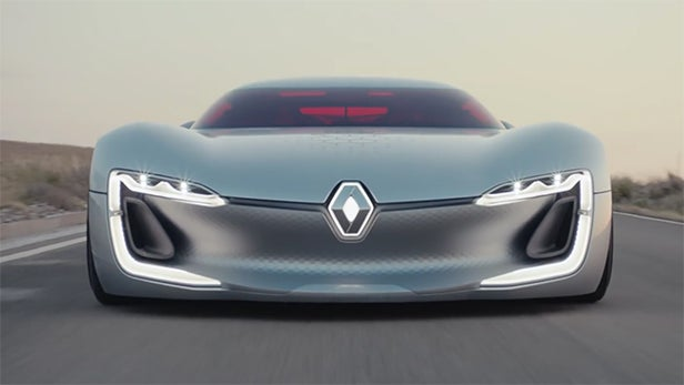 Meet The Renault Trezor The Most Beautiful Concept Car