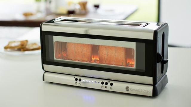 Russell Hobbs Purity Glass Line Toaster