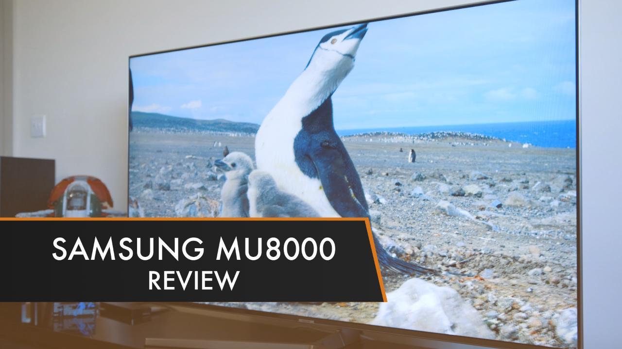 Samsung Ue55mu8000 Review Trusted Reviews
