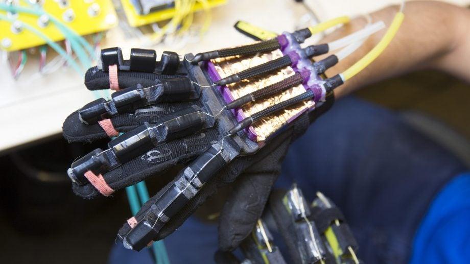 VR touch gloves
