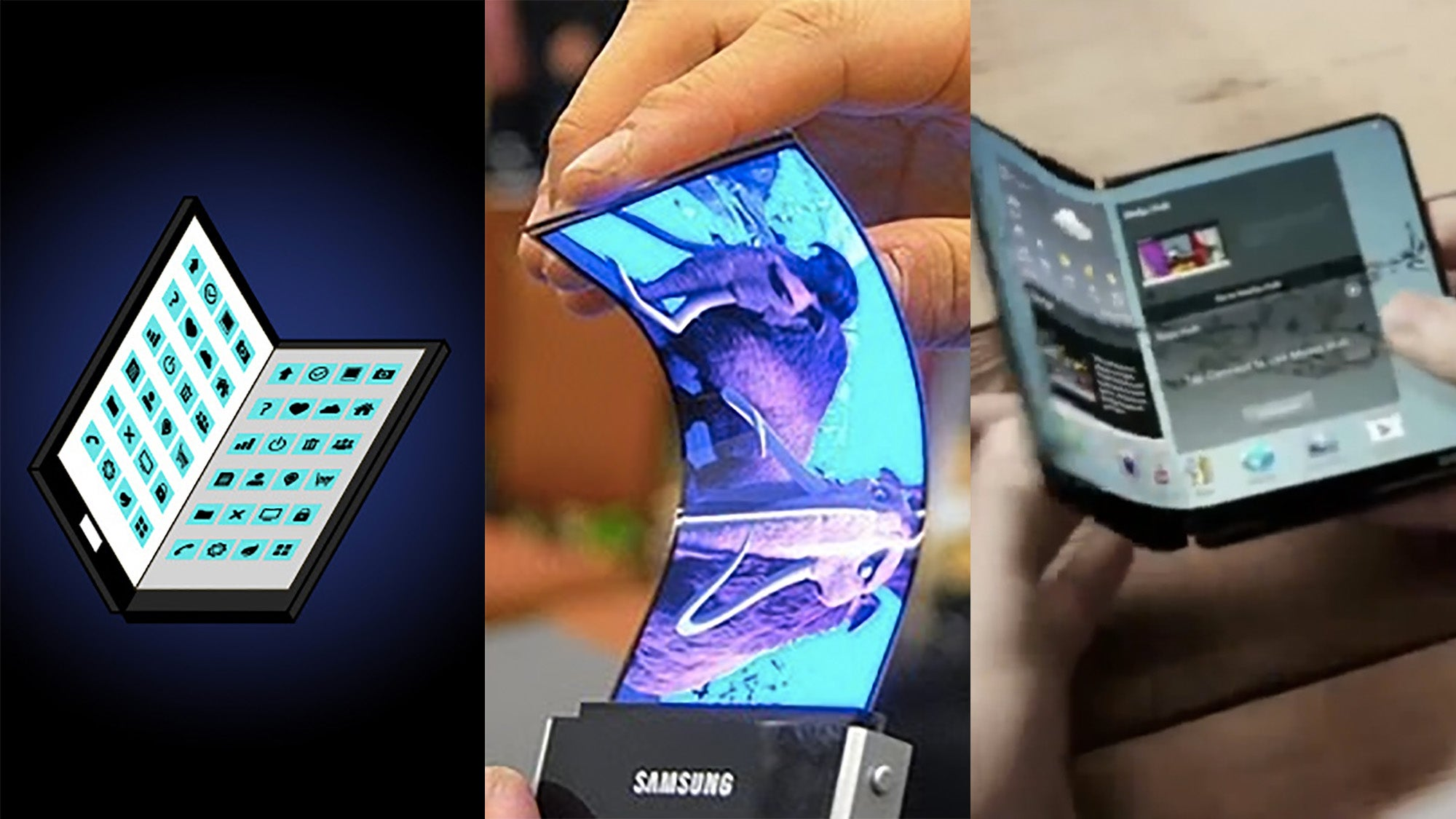Is Samsung S Foldable Galaxy X Smartphone Nearly Here