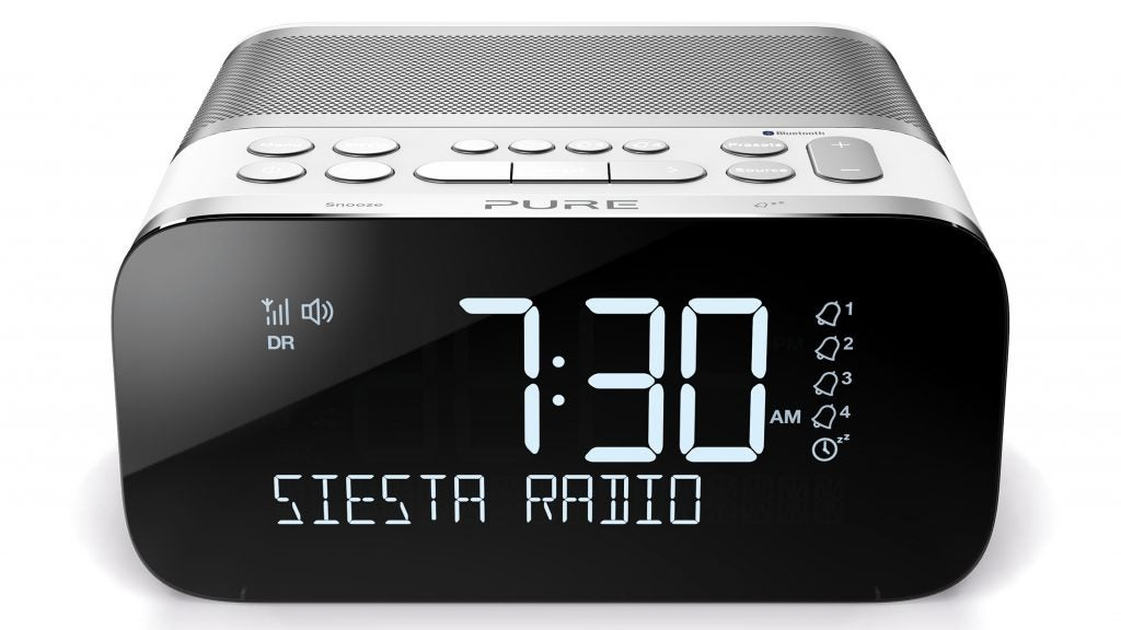 pure 39 s siesta s6 wants to slink its way onto your bedside table trusted reviews. Black Bedroom Furniture Sets. Home Design Ideas