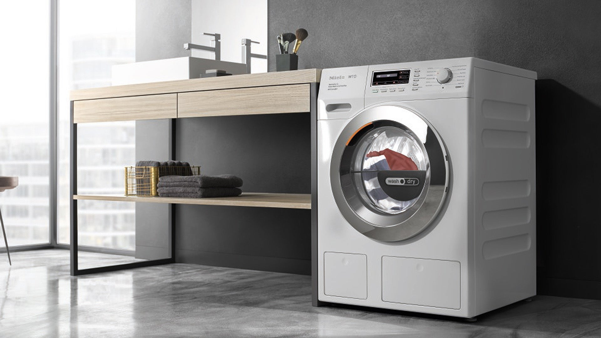 Miele Wth120 Washer Dryer Review Trusted Reviews Ipso Washing Machine Wiring Diagram