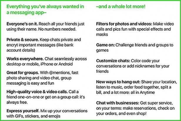 Amazon's Anytime will be like Whatsapp, Snapchat and Instagram in a