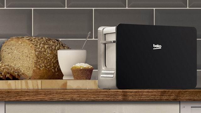 Beko Wide 2 Slice Toaster TAM6202
