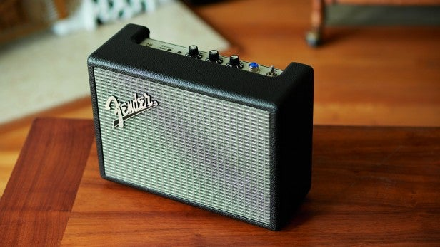 fender 39 s new bluetooth speakers look just like tiny guitar amps trusted reviews. Black Bedroom Furniture Sets. Home Design Ideas