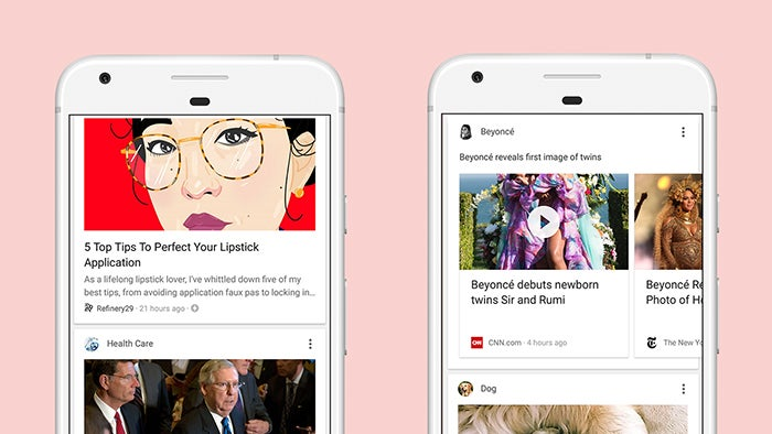 The Google app's new personalised feed might just drag you