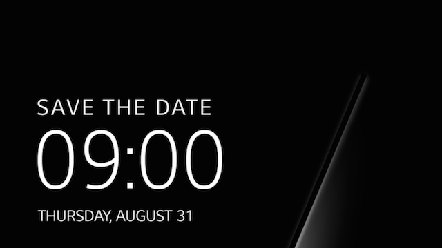 Lg Save The Date Invite Teases V30 Launch For August 31