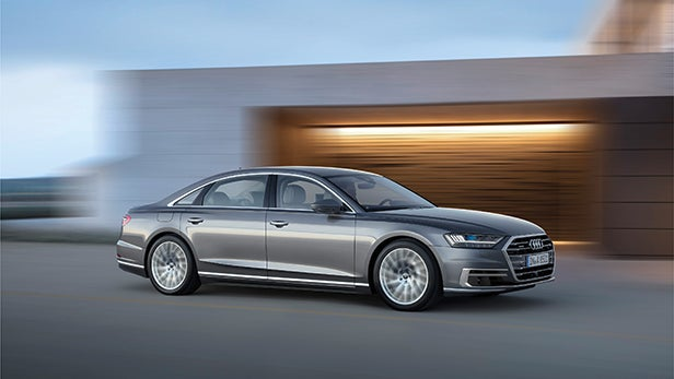 New Audi A8 2017