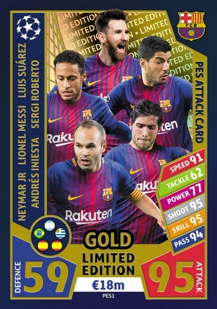 PES 2018 to receive limited edition trading cards in new