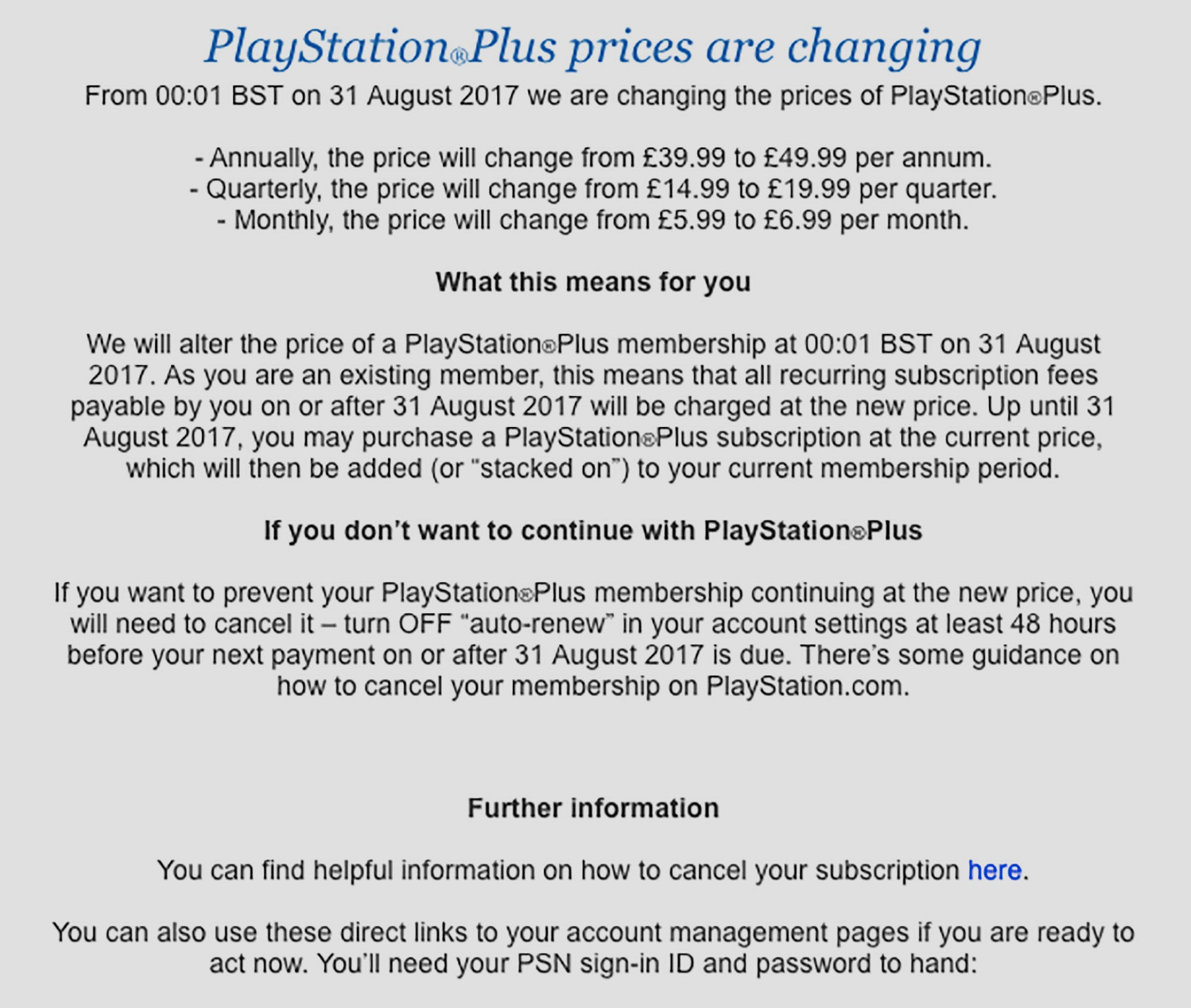 PlayStation Plus prices to skyrocket – but there's a way to