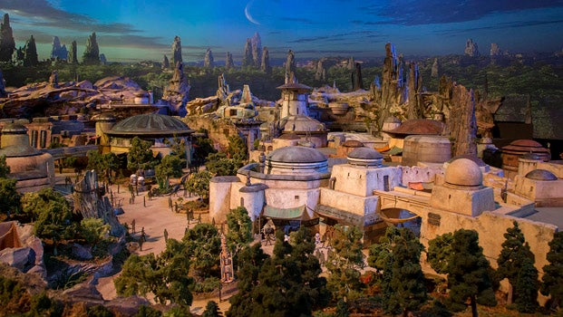 The first look at Disney's Star Wars land transports you to a galaxy far, far away