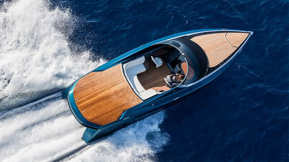 Aston Martin's first boat is now in the wild – and it looks incredible