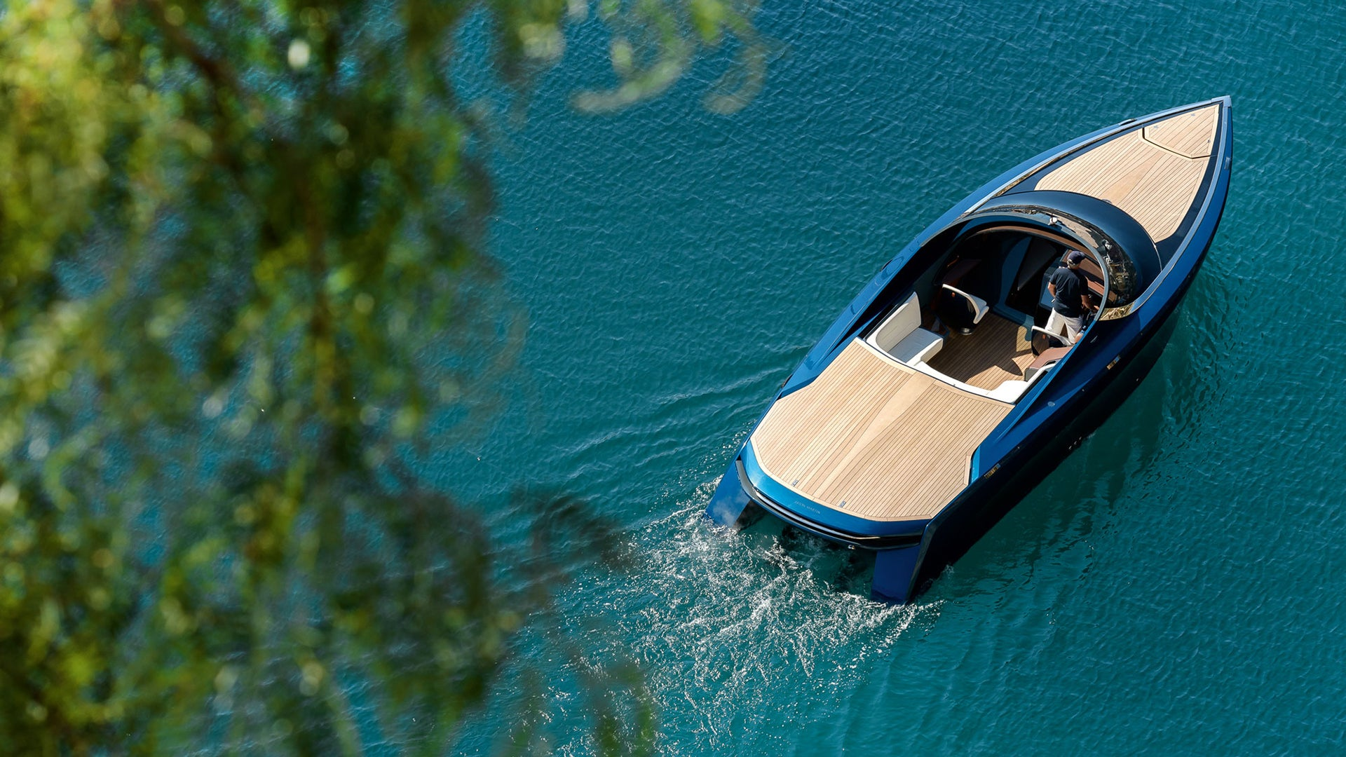 Aston Martin S First Boat Is Now In The Wild And It Looks