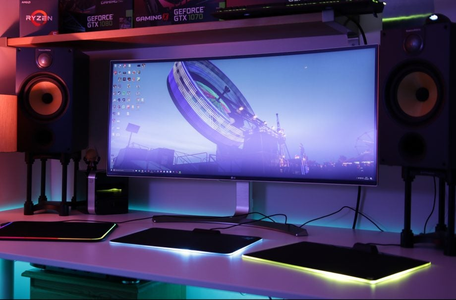 Colourful Lighting Rgb On Gaming Pc Components Is Big Business But The Latest Extension Onto Your Desk Via 70 Mousemats A Step Too Far
