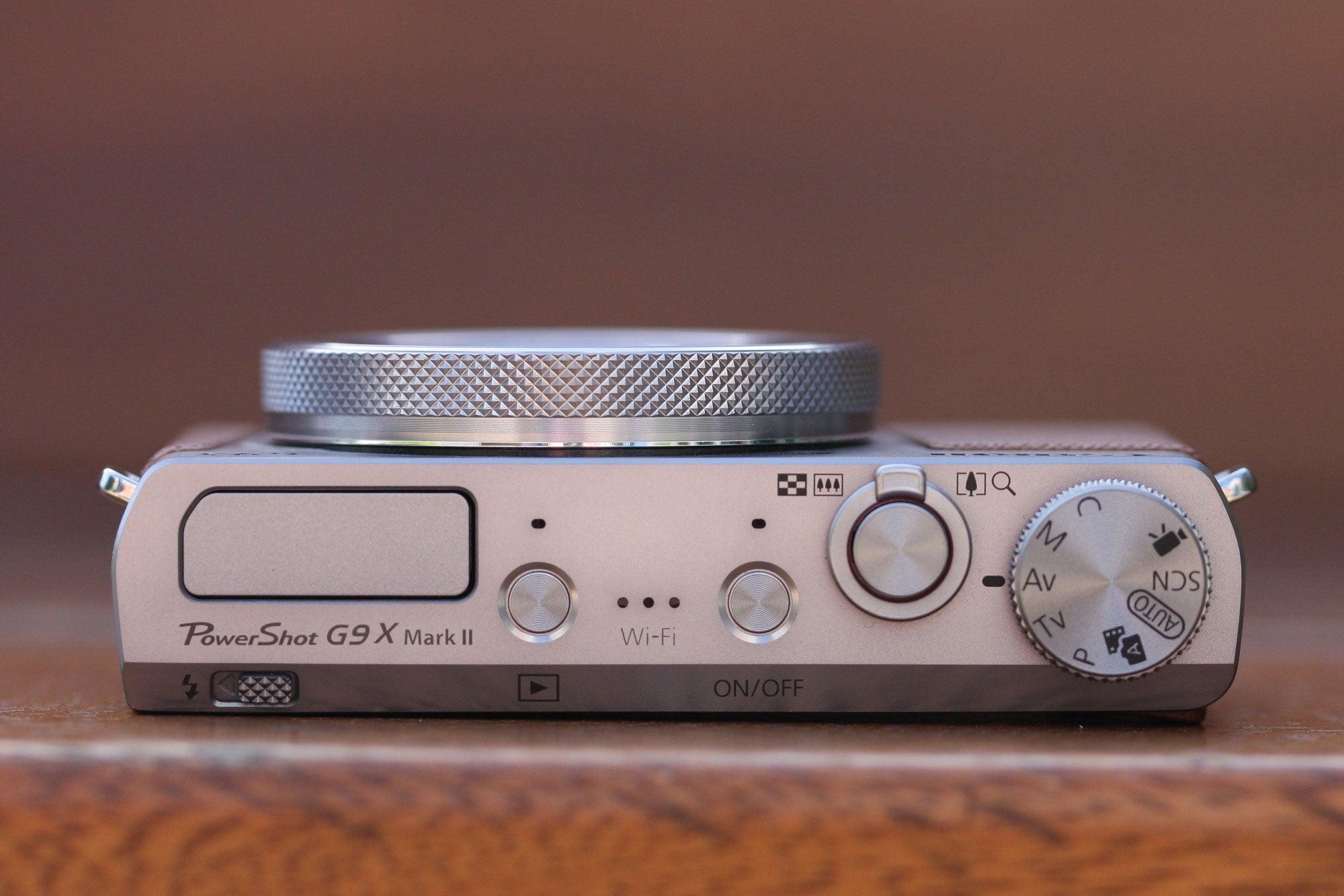 Canon G9X II top