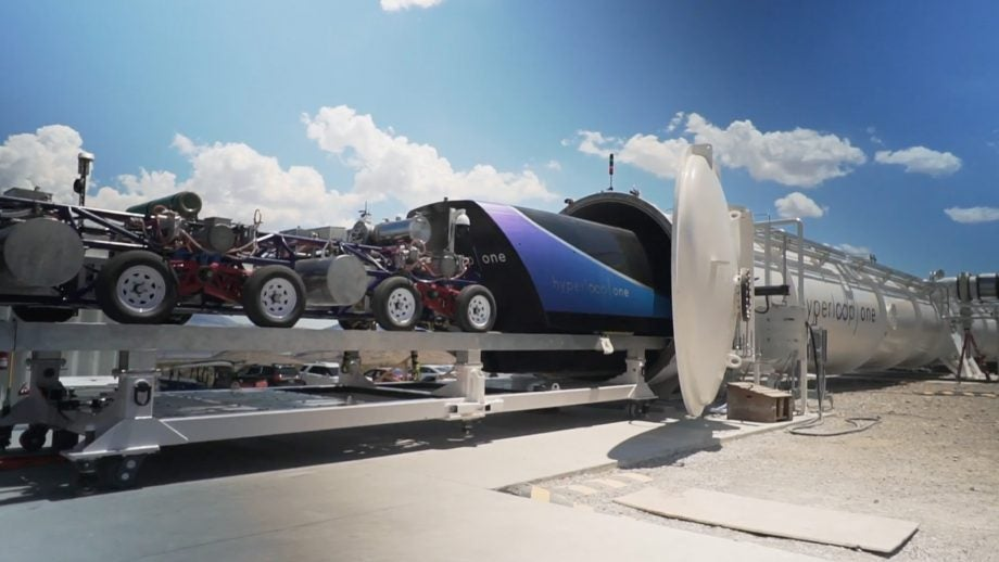 Hyperloop One Hits Nearly 200mph With First Passenger Pod