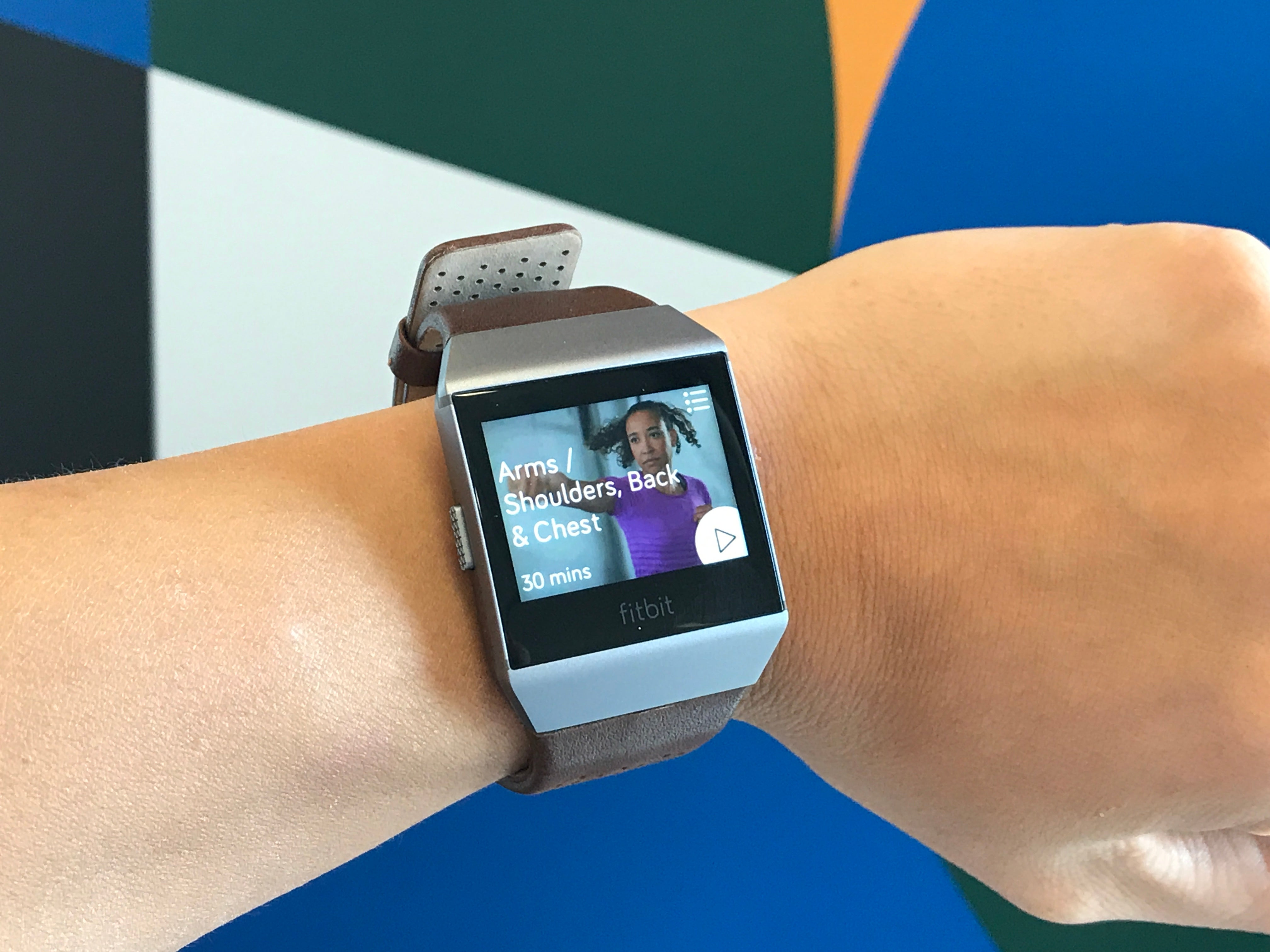 Fitbit Ionic Hands On Review Trusted Reviews