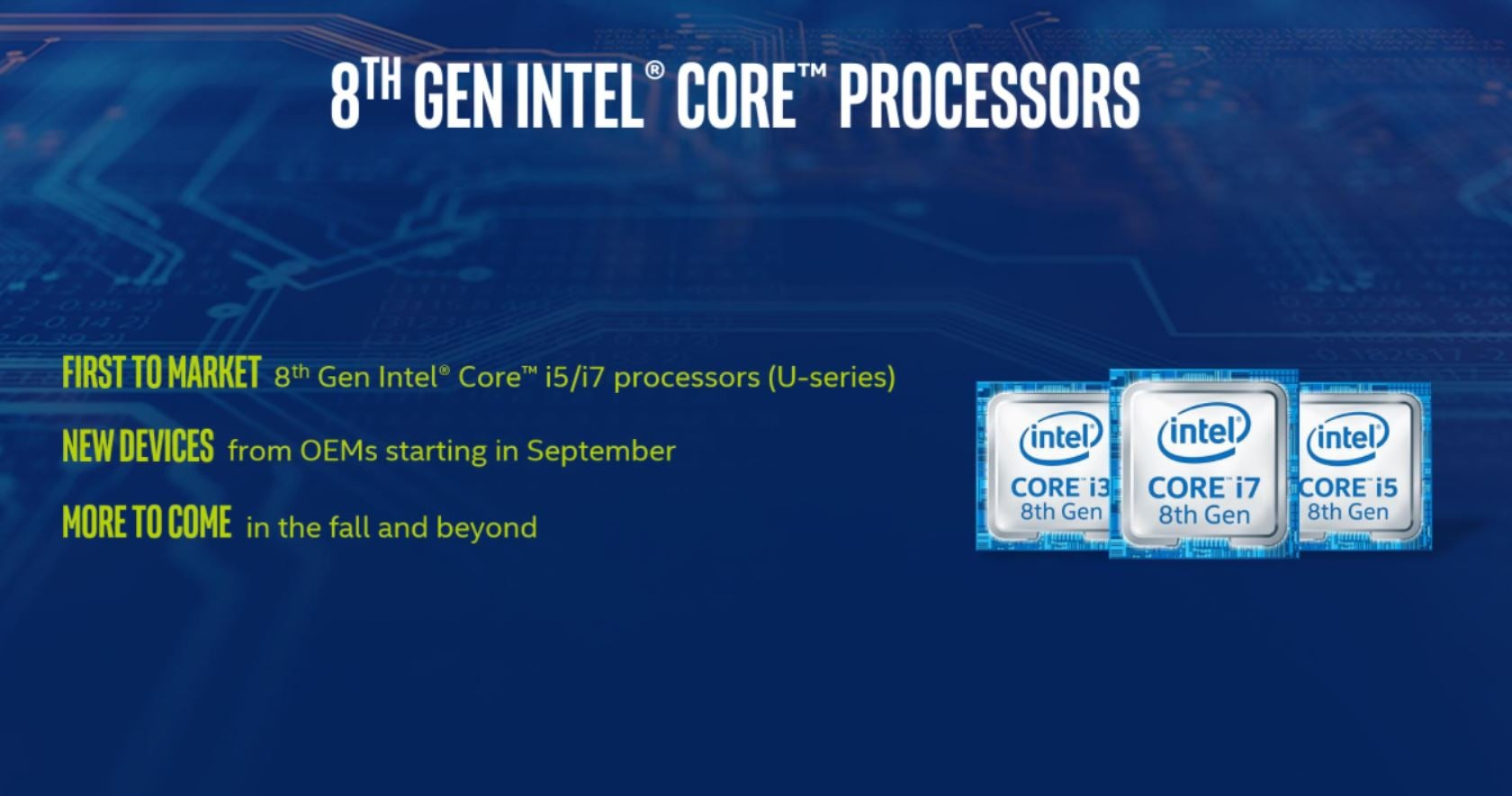 Intel 8th-gen Coffee Lake CPUs on sale now: Specs, price