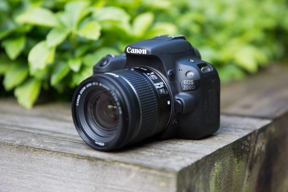 Best DSLR: Canon EOS 200D