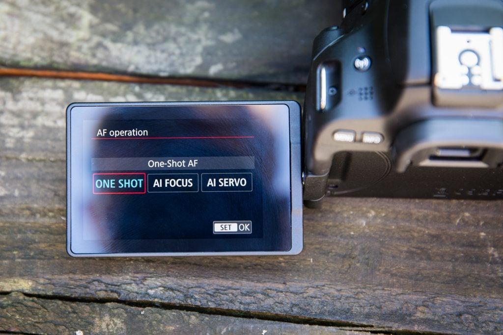 200D – Canon EOS 200D – Viewfinder, Screen, Autofocus and