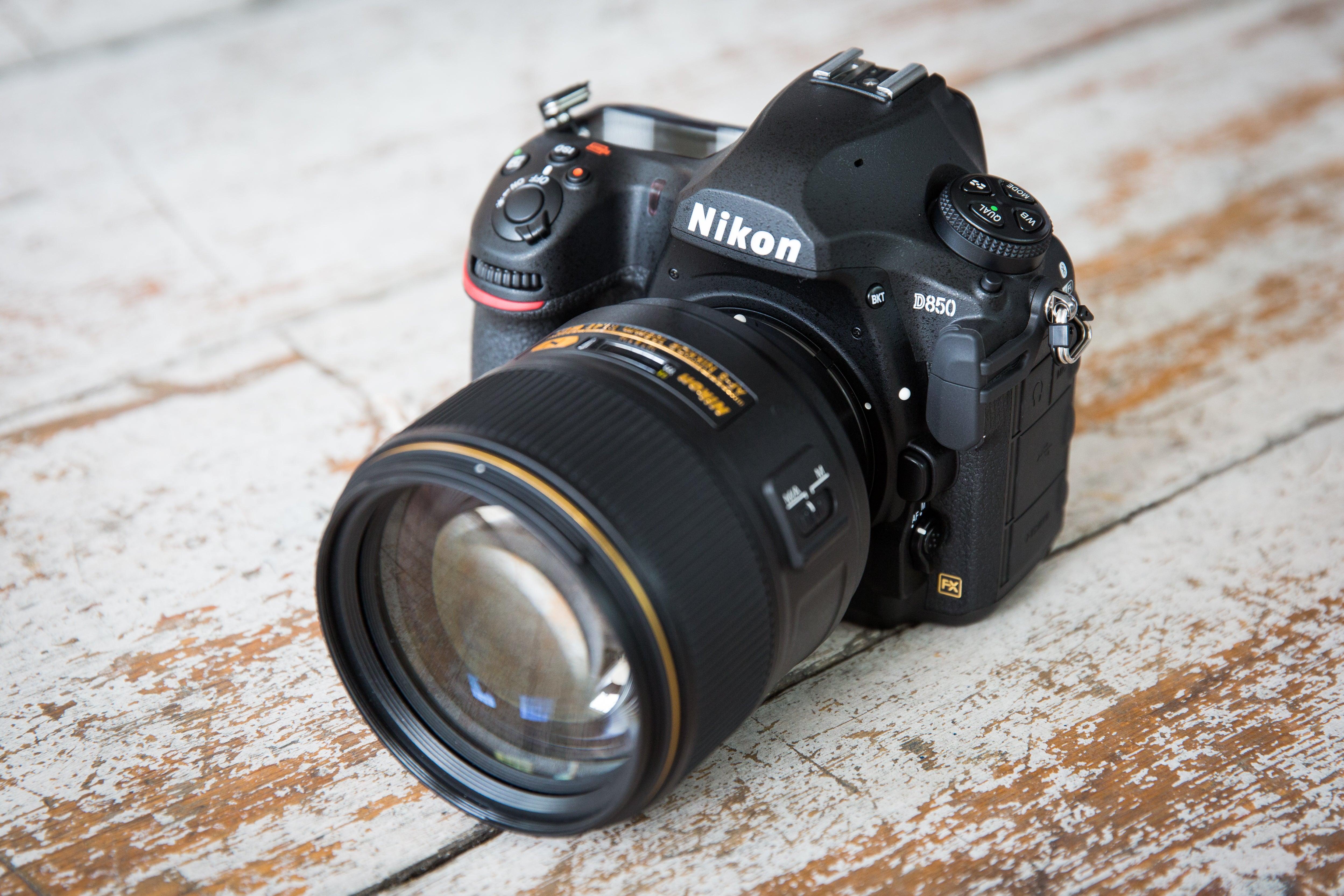 Best DSLR: Nikon D850