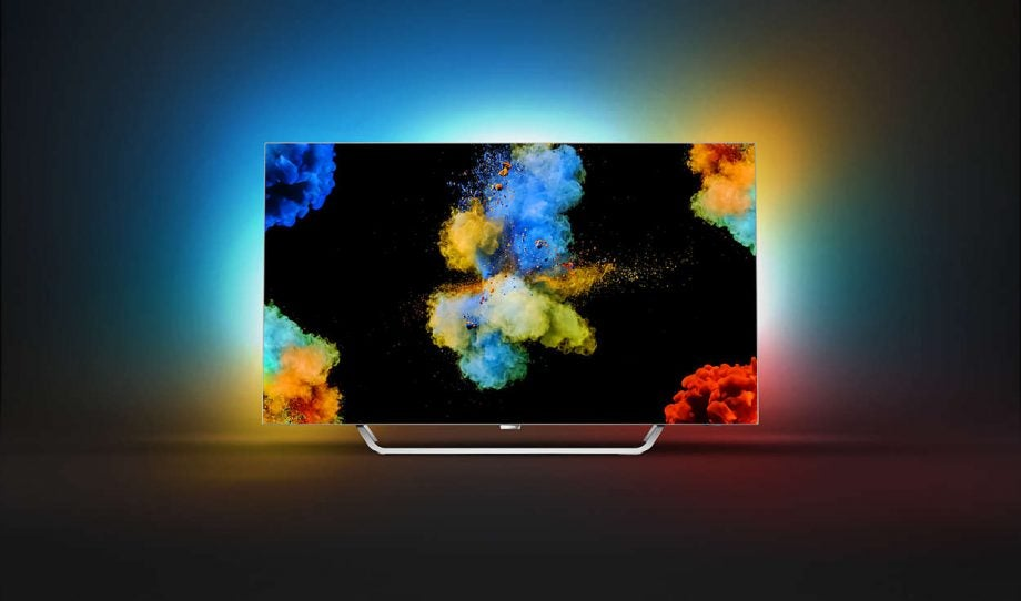 Best 4K TVs: Philips 55POS9002