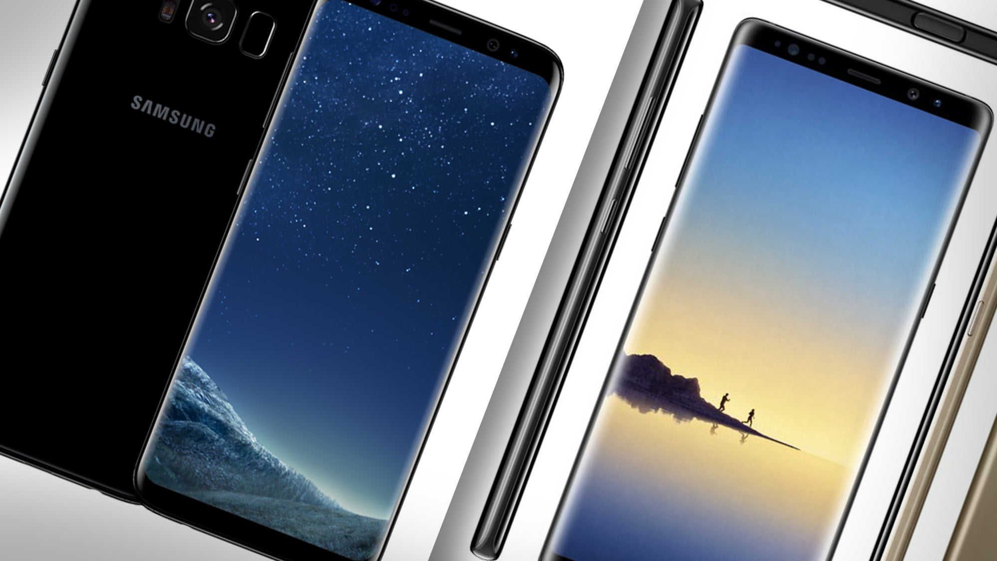 samsung galaxy note 8 vs galaxy s8 what 39 s the difference. Black Bedroom Furniture Sets. Home Design Ideas