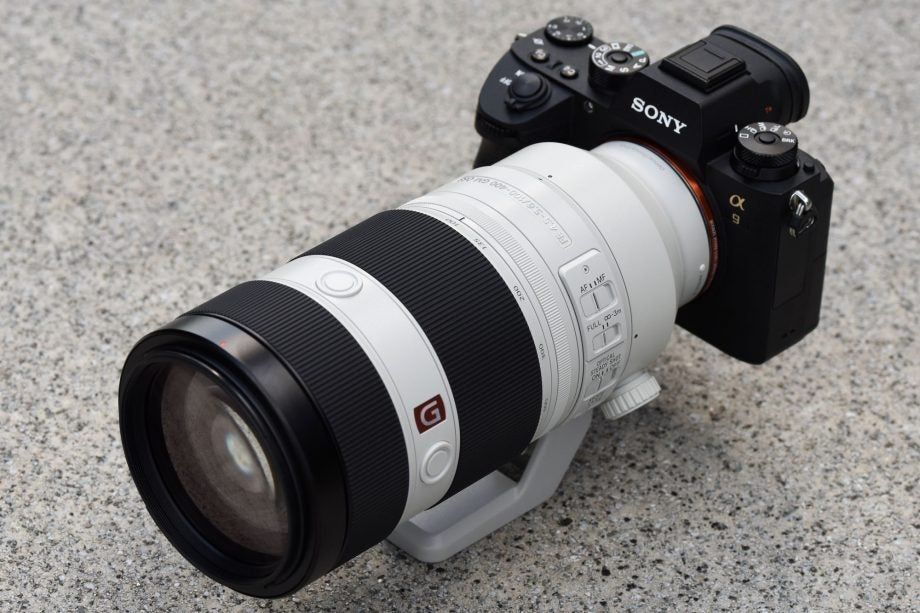 Sony 100-400mm GM on Alpha 9