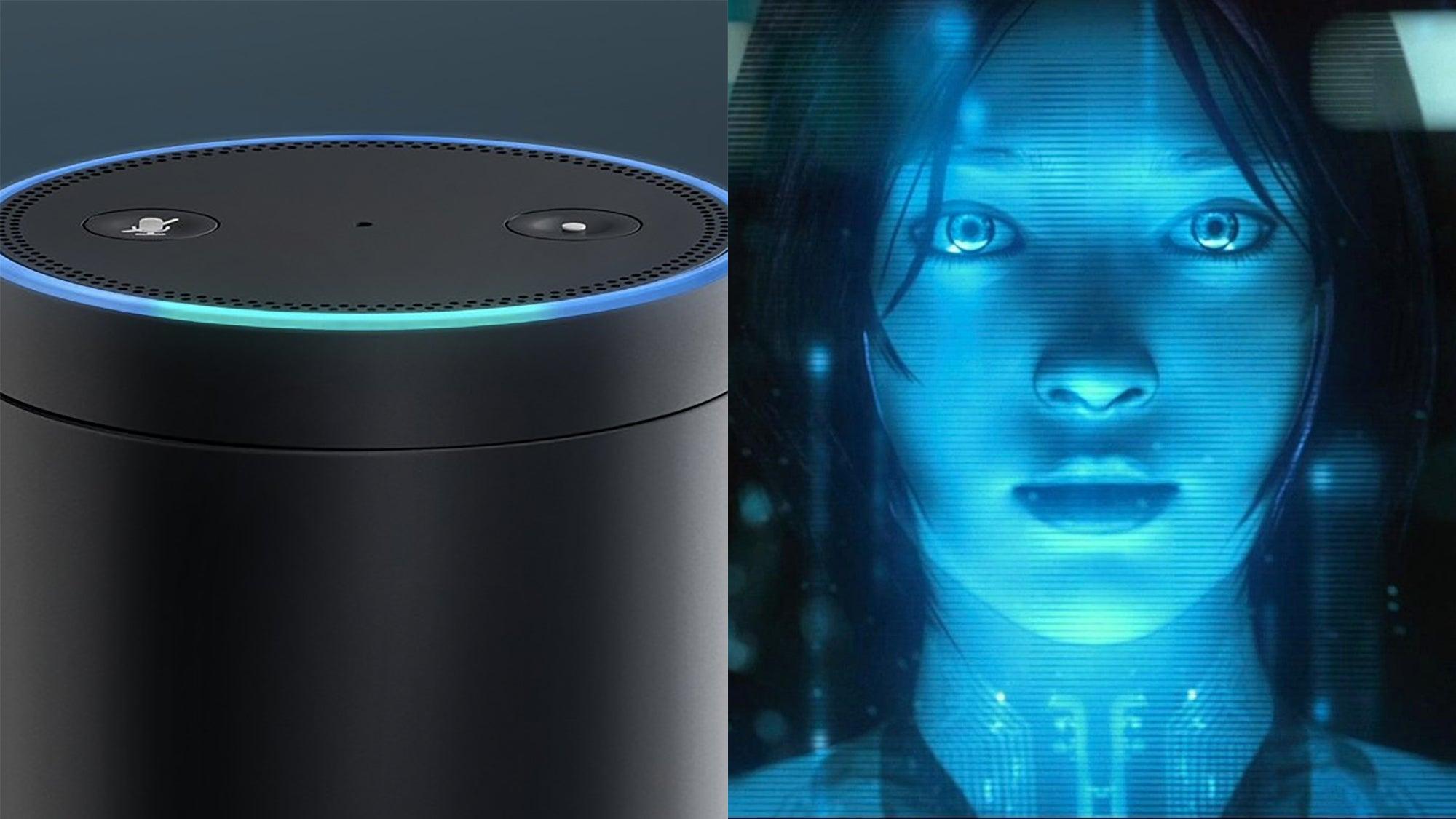 Amazon Alexa and Microsoft's Cortana will be able to speak ...