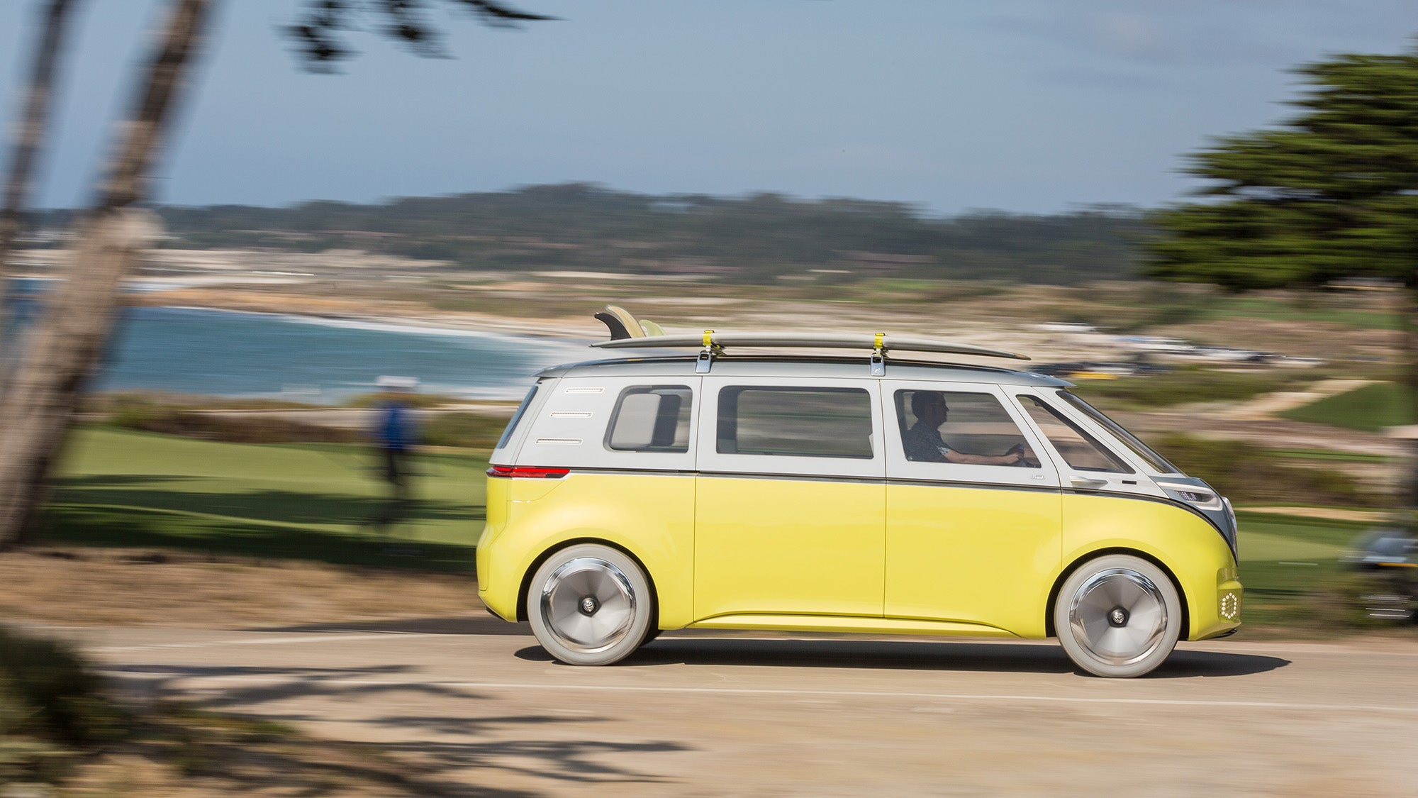 This is VW's first electric Microbus, coming 2022 - Revolution-Green