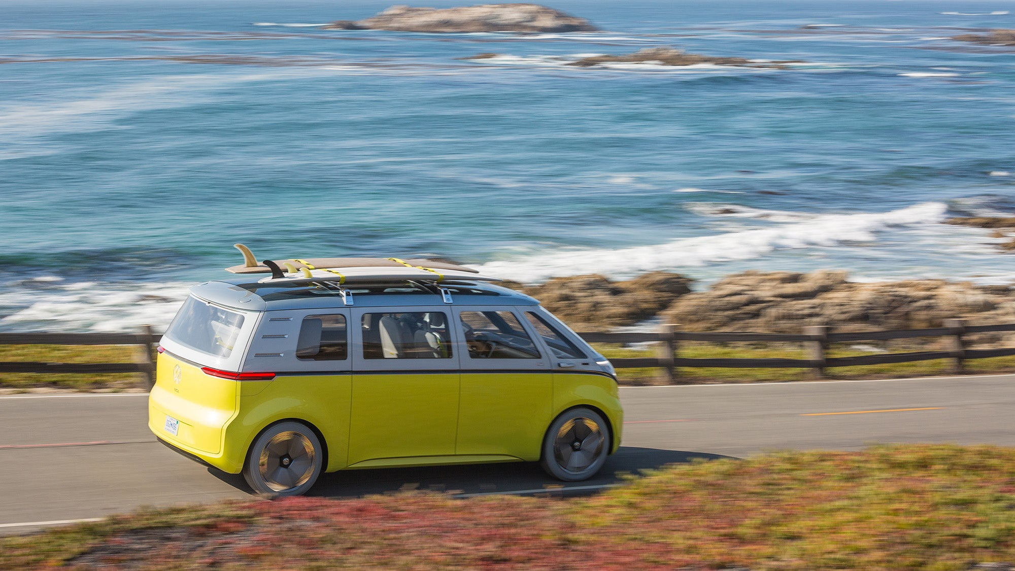 Volkswagen I D Buzz This is VW s first electric Microbus ing