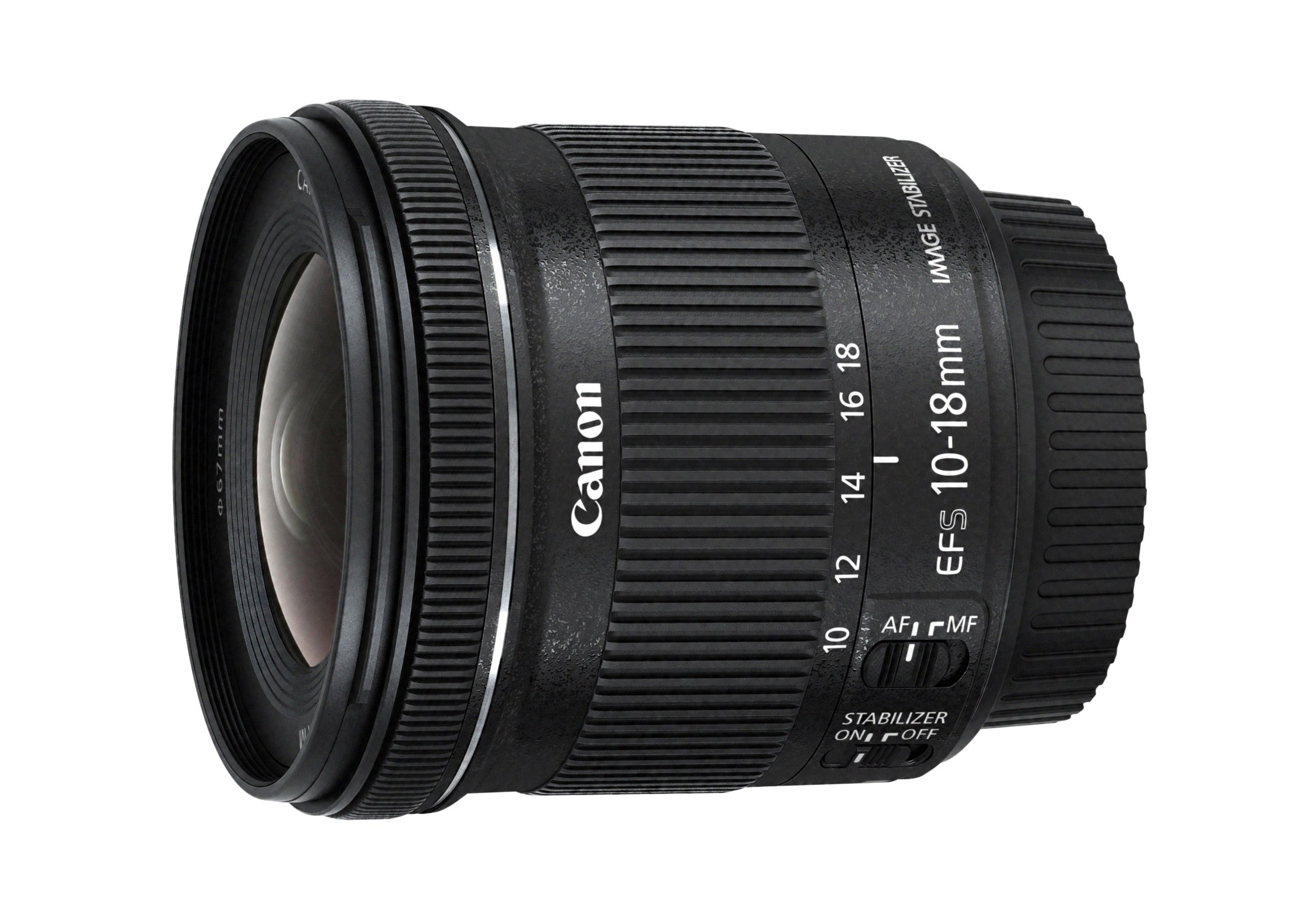 Best canon lenses: Canon EF-S 10-18mm f/4.5-5.6 IS STM