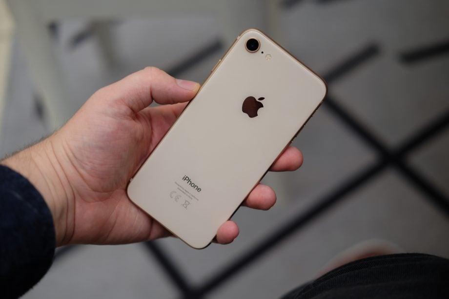 iPhone 8 back 2