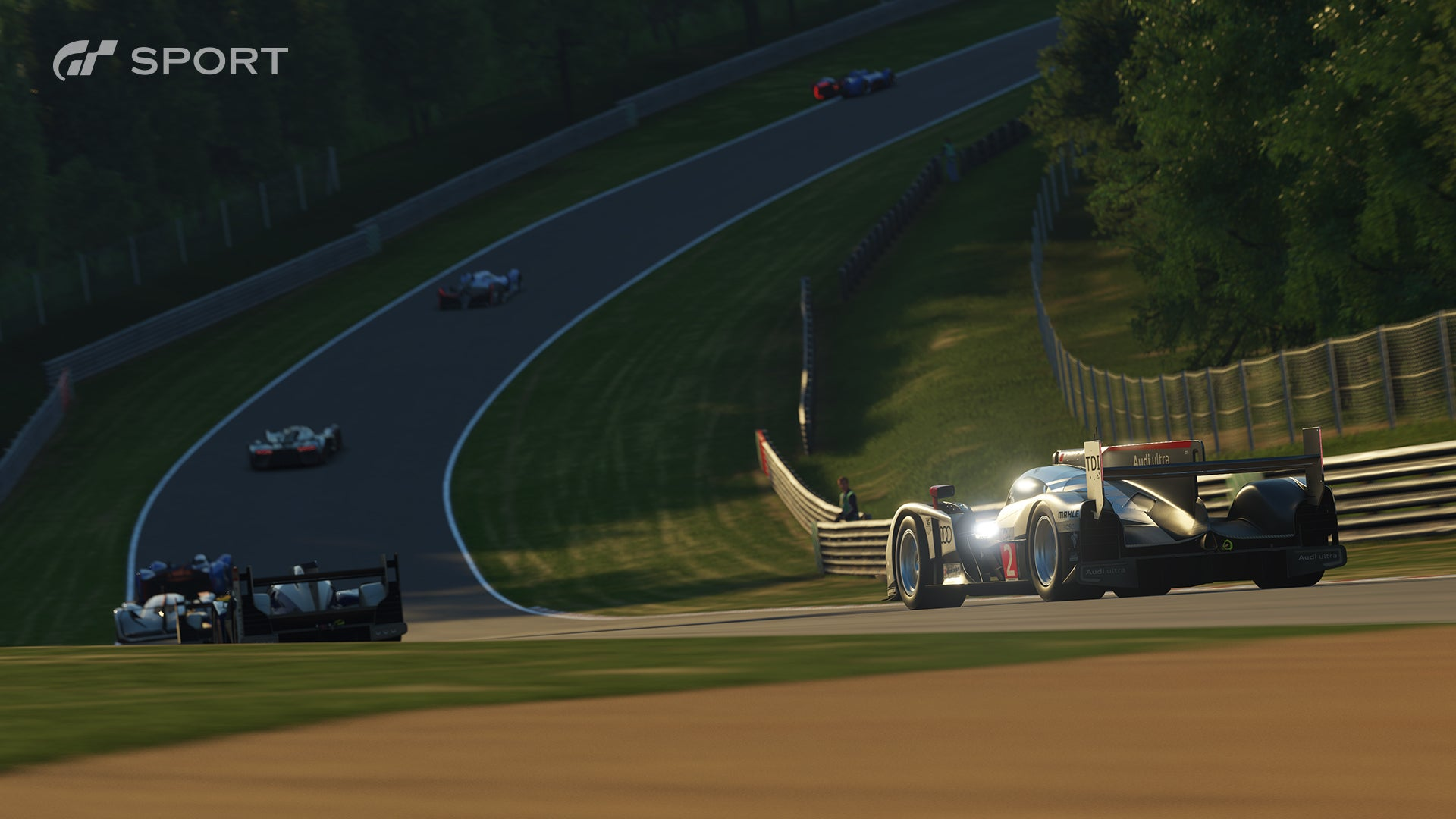 Spectating Race Project Cars