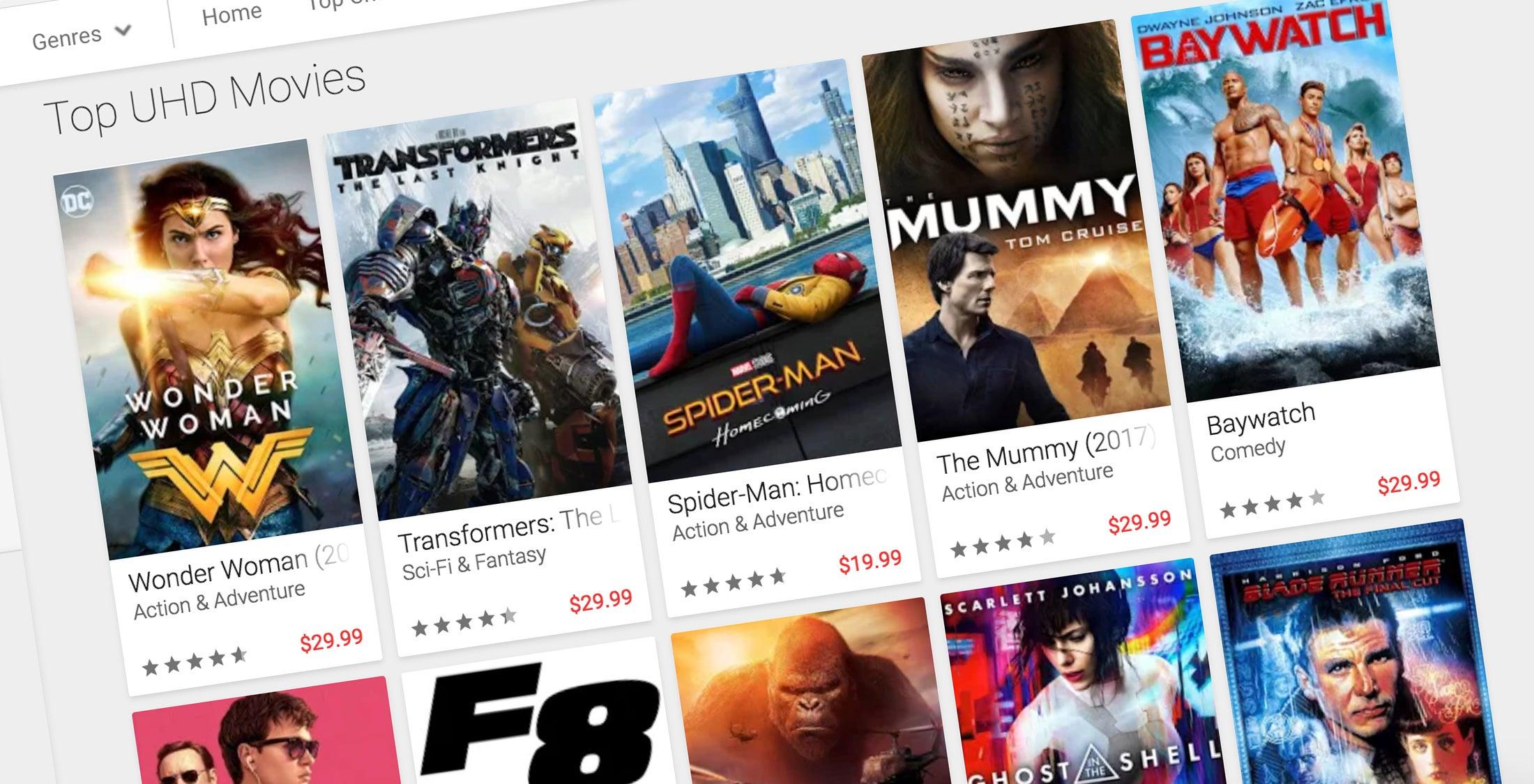 free movies on google play movies