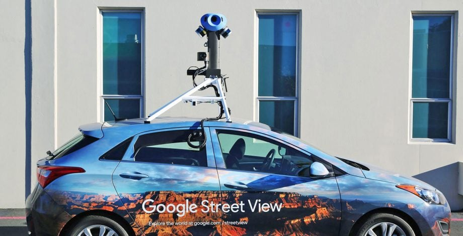 It's Goolies Street View as mapping cameras capture rogue penis