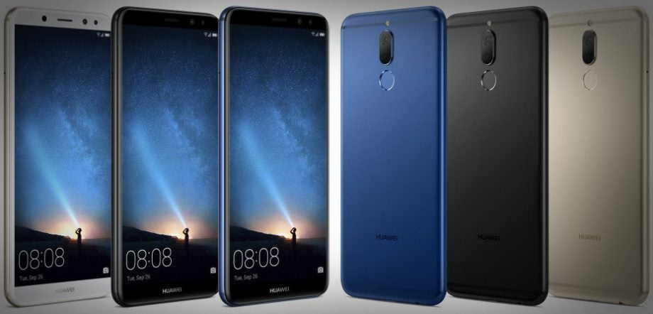 huawei mate 10 lite will sport a 18 9 fhd display and four cameras trusted reviews