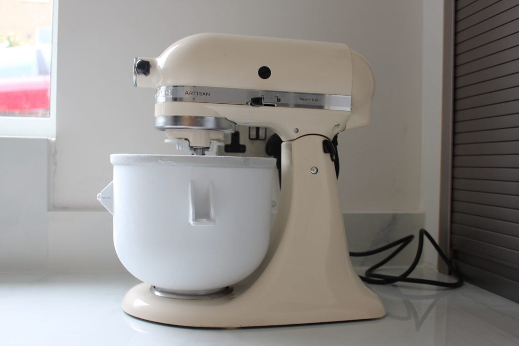 KitchenAid Ice Cream Maker attachment Review | Trusted Reviews on