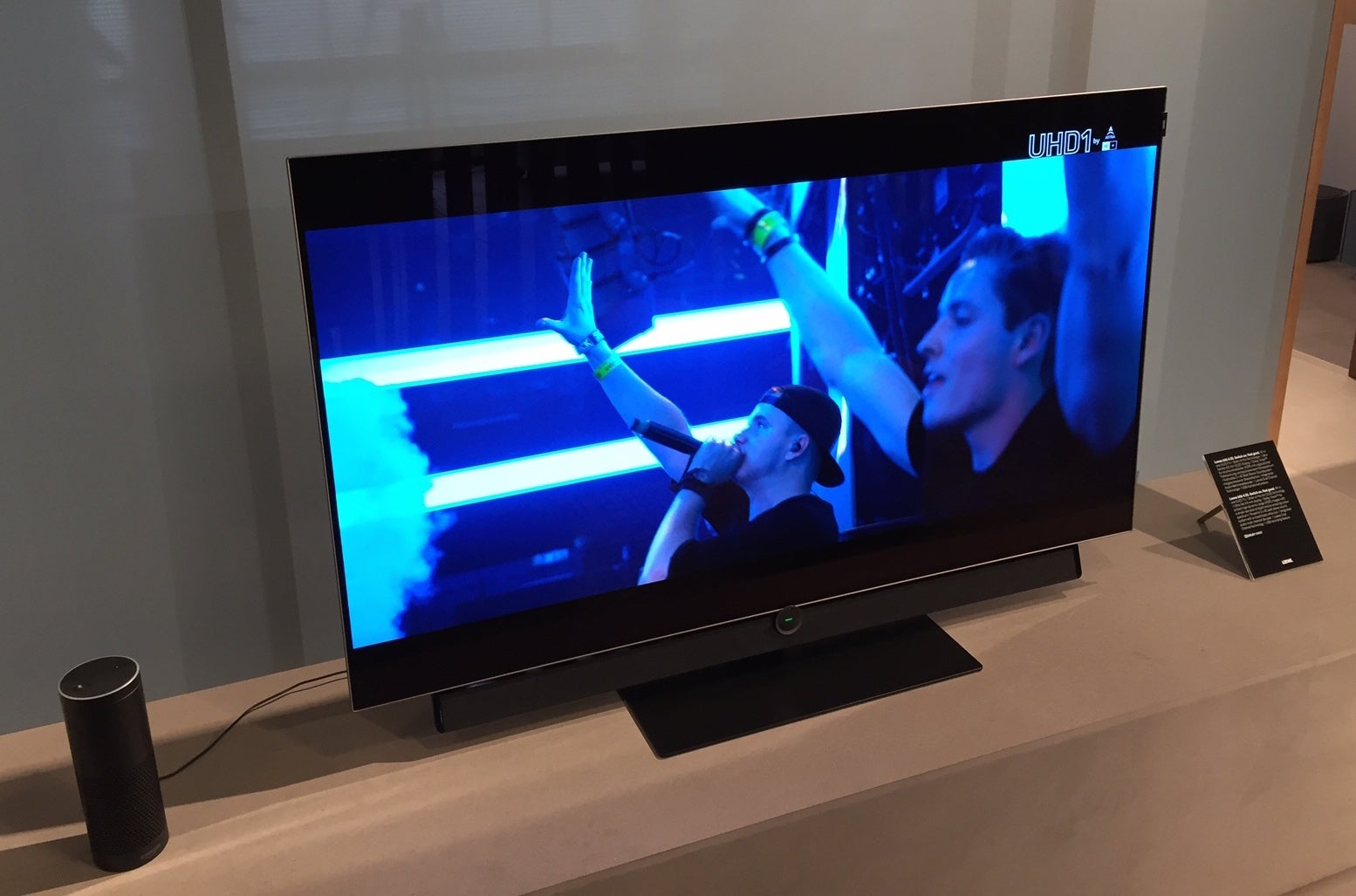 loewe bild 4 and bild 3 oled tvs hands on trusted reviews. Black Bedroom Furniture Sets. Home Design Ideas