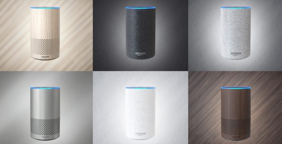 speakers amazon. amazon echo vs sonos one: battle of the smart speakers