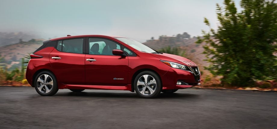 Meet The New Nissan Leaf An Electric Car With One Pedal Driving