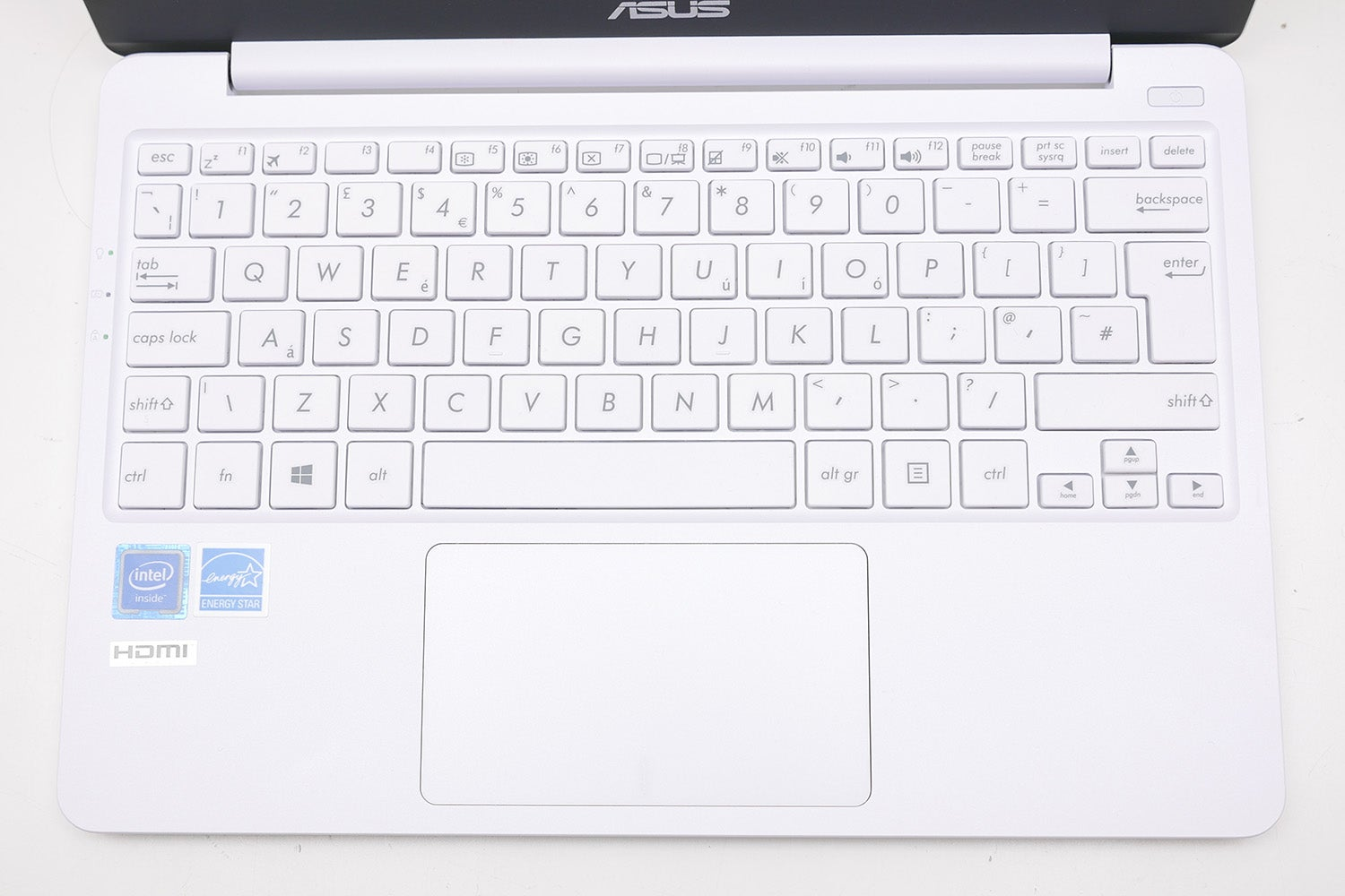 Asus Vivobook E12 E203na Review Trusted Reviews Notebook E203mah Fd411t Star Grey As For The Trackpad Its Okay Tracking Is Reasonably Accurate And A Decent Size However Click Action Isnt Anything To Shout About