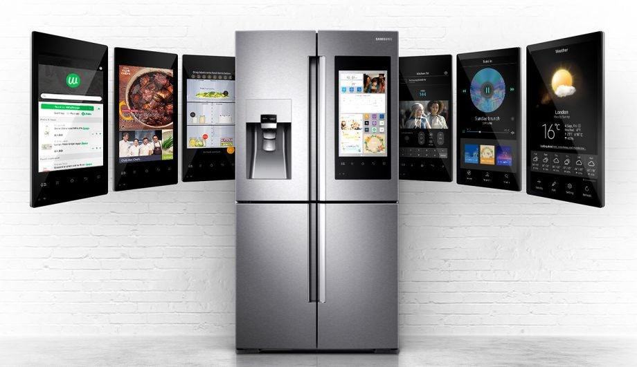 Samsung's smart fridge wants to control your connected home