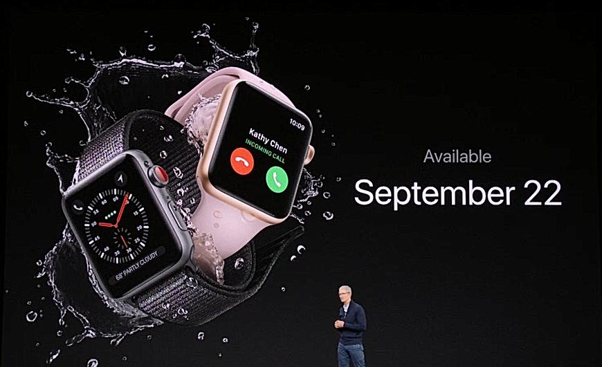 Apple watch release date in Melbourne