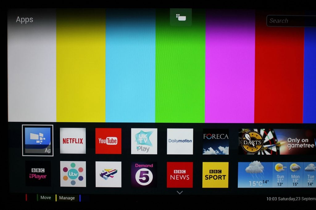 how to add apps to philips net tv