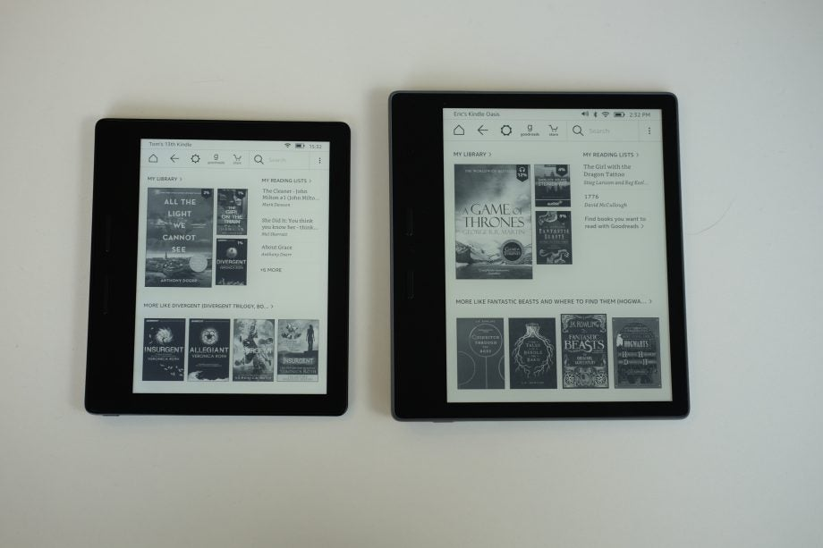 Kindle Oasis 2 Vs Oasis What S New In The 2017 Model