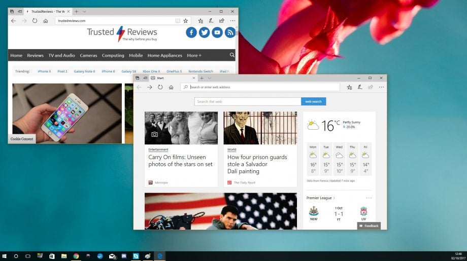microsoft is forcing the edge browser on windows 10 users yet again