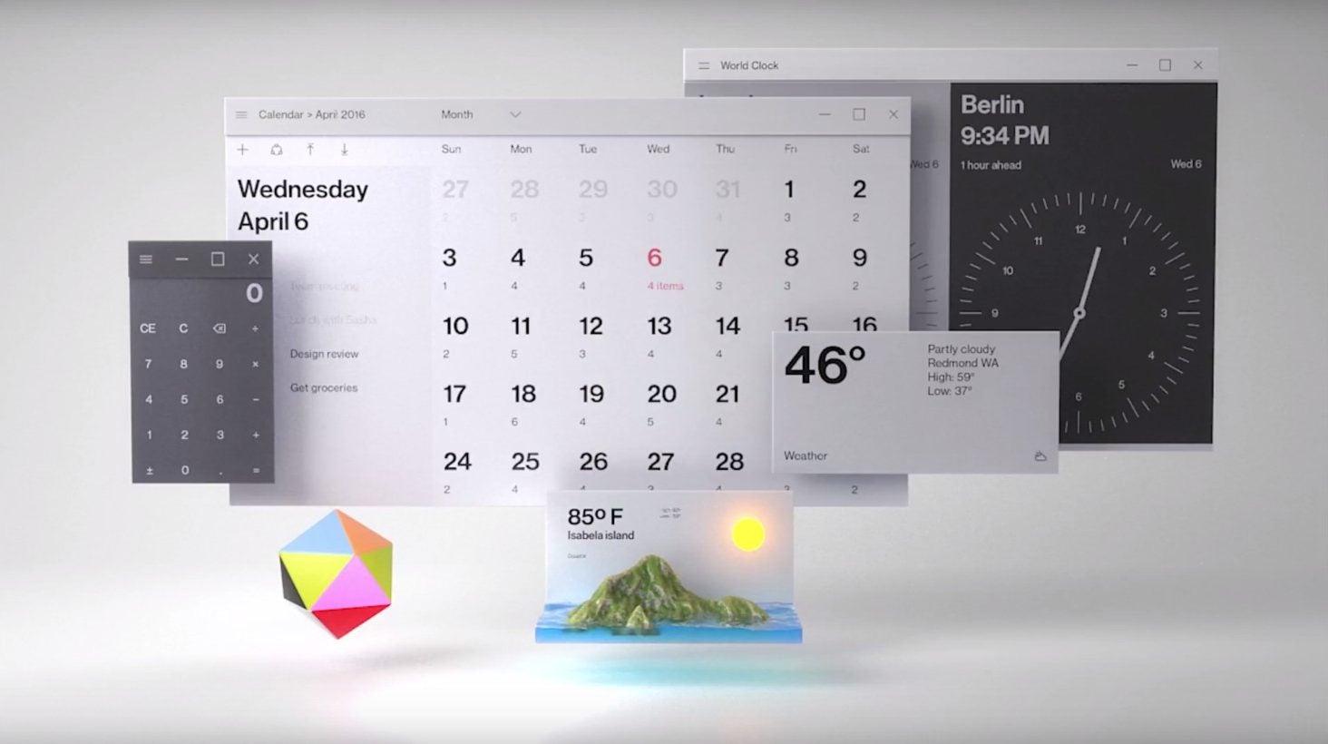 Microsoft S Fluent Design Will Start To Slip Into Windows