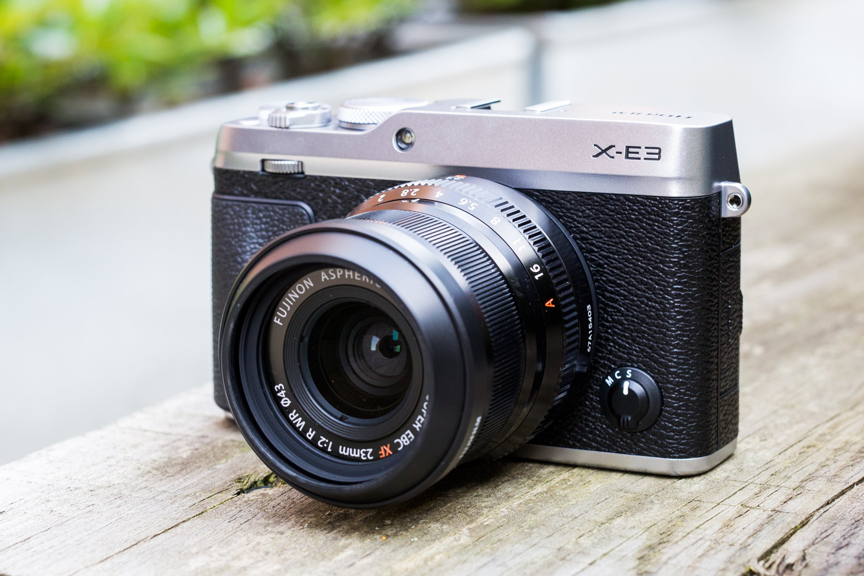 Fujifilm X E3 Review Trusted Reviews Kit Xf 18 55mm Silver 35mm F2